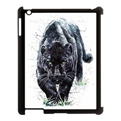 Panther Apple Ipad 3/4 Case (black) by kot737