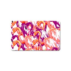 Flamingos Magnet (name Card) by StarvingArtisan