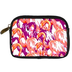 Flamingos Digital Camera Leather Case by StarvingArtisan