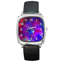 Galaxy Now Square Metal Watch