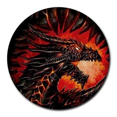 Dragon Round Mousepads