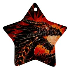 Dragon Ornament (star)