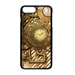 Wonderful Steampunk Design, Awesome Clockwork Iphone 7 Plus Seamless Case (black) by FantasyWorld7
