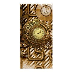 Wonderful Steampunk Design, Awesome Clockwork Shower Curtain 36  X 72  (stall)  by FantasyWorld7