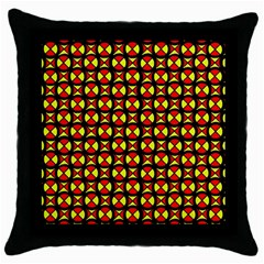 Rby 1 Throw Pillow Case (black) by ArtworkByPatrick