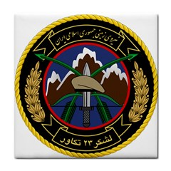Iranian Army 23rd Takavar Division Insignia Tile Coasters by abbeyz71