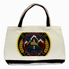 Iranian Army 23rd Takavar Division Insignia Basic Tote Bag (two Sides) by abbeyz71