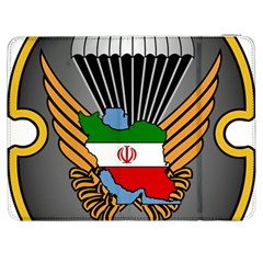 Insignia Of Iranian Army 55th Airborne Brigade Samsung Galaxy Tab 7  P1000 Flip Case by abbeyz71
