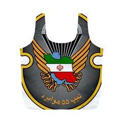 Insignia Of Iranian Army 55th Airborne Brigade Full Print Recycle Bag (m)
