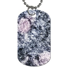 Garden Of The Phoenix Granite Dog Tag (two Sides) by Riverwoman