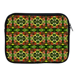 Pattern Red Green Yellow Black Apple Ipad 2/3/4 Zipper Cases