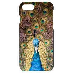 Peacock Feather Peacock Feather Iphone 7/8 Black Uv Print Case by Pakrebo