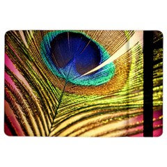 Peacock Feather Colorful Peacock Ipad Air 2 Flip