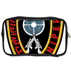 Nohed Sniper Badge Toiletries Bag (one Side)
