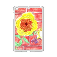 Reid Hall Rose Watercolor Ipad Mini 2 Enamel Coated Cases by okhismakingart