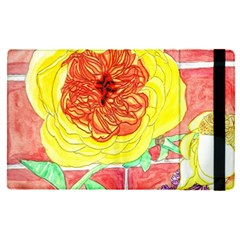 Reid Hall Rose Watercolor Apple Ipad Pro 9 7   Flip Case by okhismakingart