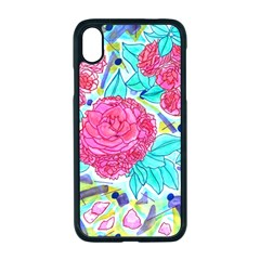 Roses And Movie Theater Carpet Iphone Xr Seamless Case (black) by okhismakingart