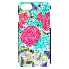Roses And Movie Theater Carpet Iphone 7/8 Black Uv Print Case by okhismakingart