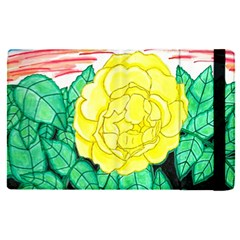 Sunset Rose Watercolor Apple Ipad Pro 12 9   Flip Case by okhismakingart
