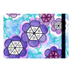 Hexagonal Flowers Apple Ipad Pro 10 5   Flip Case by okhismakingart