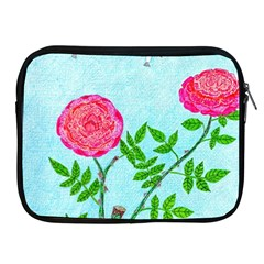 Roses And Seagulls Apple Ipad 2/3/4 Zipper Cases by okhismakingart