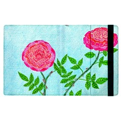 Roses And Seagulls Apple Ipad Pro 9 7   Flip Case by okhismakingart
