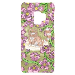 Fluffy Cat In A Garden  Samsung S9 Black Uv Print Case
