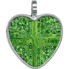 Electric Field Art Xii Heart Necklace