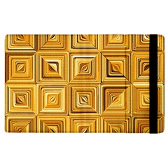 Electric Field Art Xv Apple Ipad 2 Flip Case by okhismakingart