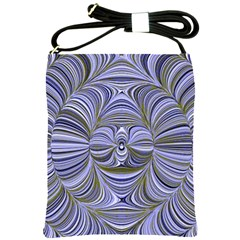 Electric Field Art Xx Shoulder Sling Bag by okhismakingart