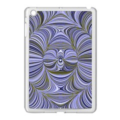 Electric Field Art Xx Apple Ipad Mini Case (white) by okhismakingart