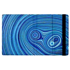 Electric Field Art Xxiii Apple Ipad Pro 12 9   Flip Case by okhismakingart
