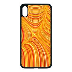 Electric Field Art Xxv Iphone Xs Max Seamless Case (black) by okhismakingart