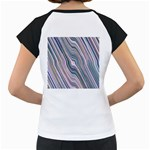 Electric Field Art XXVIII Women s Cap Sleeve T Back
