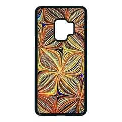 Electric Field Art Xlvii Samsung Galaxy S9 Seamless Case(black) by okhismakingart