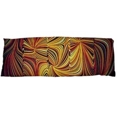 Electric Field Art Lvi Body Pillow Case (dakimakura) by okhismakingart