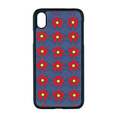 Red Begonias Iphone Xr Seamless Case (black) by WensdaiAddamns