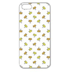 Birds, Animal, Cute, Sketch, Wildlife, Wild, Cartoon, Doodle, Scribble, Fashion, Printed, Allover, For Kids, Drawing, Illustration, Print, Design, Patterned, Pattern Apple Seamless Iphone 5 Case (clea by dflcprintsclothing