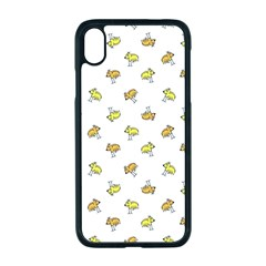 Birds, Animal, Cute, Sketch, Wildlife, Wild, Cartoon, Doodle, Scribble, Fashion, Printed, Allover, For Kids, Drawing, Illustration, Print, Design, Patterned, Pattern Iphone Xr Seamless Case (black)