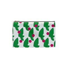 Feuilles Et Pois Cosmetic Bag (small)