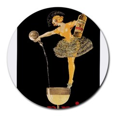 Pernis Champagne Round Mousepads by StarvingArtisan