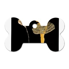 Pernis Champagne Dog Tag Bone (two Sides) by StarvingArtisan