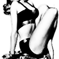 Pinup Girl Magic Photo Cube by StarvingArtisan
