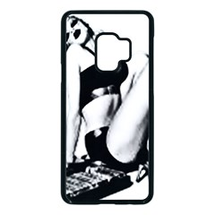 Pinup Girl Samsung Galaxy S9 Seamless Case(black) by StarvingArtisan