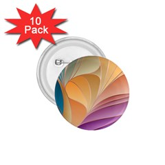 Modern Colorful Abstract Art 1 75  Buttons (10 Pack) by tarastyle