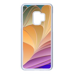 Modern Colorful Abstract Art Samsung Galaxy S9 Seamless Case(white) by tarastyle
