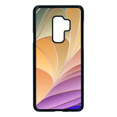 Modern Colorful Abstract Art Samsung Galaxy S9 Plus Seamless Case(black)