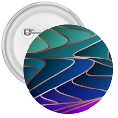 Modern Colorful Abstract Art 3  Buttons