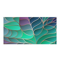 Modern Colorful Abstract Art Satin Wrap by tarastyle
