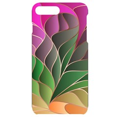 Modern Colorful Abstract Art Iphone 7/8 Plus Black Uv Print Case